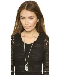 Samantha Wills - Metallic Out Of The Dark Pendant Necklace - Silver - Lyst