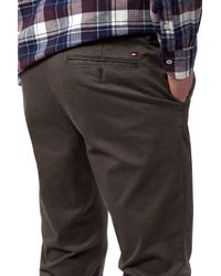 Tommy Hilfiger - Gray Denton Chinos for Men - Lyst