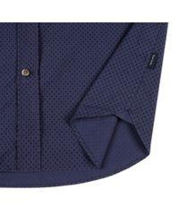 Paul Smith | Blue Men's Tailored-fit Navy Polka Dot Print Shirt for Men | Lyst
