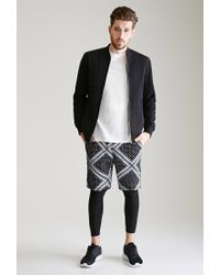 Forever 21 | Black Bandana Print Sweatshorts for Men | Lyst