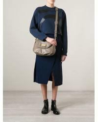 Marc By Marc Jacobs Gray 'New Q Natasha' Crossbody Bag