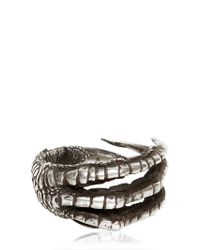 Ann Demeulemeester | Metallic Silver Claw Ring for Men | Lyst