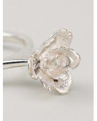 Rosa Maria | Metallic 'sawsene' Ring | Lyst