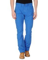 Jean.machine - Blue Casual Trouser for Men - Lyst