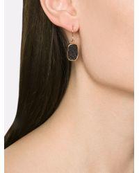 Melissa Joy Manning - Metallic Druzy Drop Earrings - Lyst