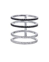 Khai Khai - White Four Layer Ring - Lyst