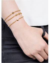 BaubleBar - Metallic Monkey Around Emoticharm Bracelet - Lyst