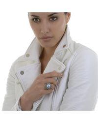 Alexandra Alberta - Blue Skye Pearl Ring - Lyst