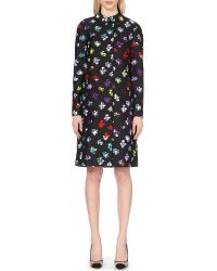 Diane von Furstenberg | Multicolor Amana Wool And Silk-blend Coat | Lyst