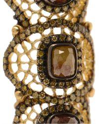 Loree Rodkin | Multicolor Baby Spiderweb Bondage Ring with Diamonds | Lyst