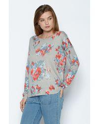 Joie - Gray Eloisa Sweater - Lyst