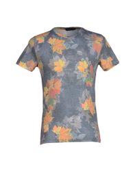 Antony Morato - Gray T-shirt for Men - Lyst