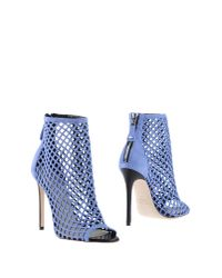 Grey Mer - Blue Ankle Boots - Lyst