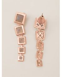 Eddie Borgo | Metallic Nut Stud Earring | Lyst