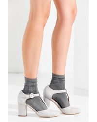 Urban Outfitters - Gray Lily T-strap Heel - Lyst