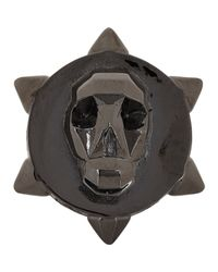Ambush - Skull Ring-Black Size Medium for Men - Lyst