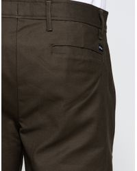 Obey - Green Latenight Sateen Pant for Men - Lyst