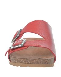Franco Sarto | Red Peony Sandals | Lyst