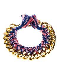 Aurelie Bidermann - Metallic 'do Brasil' Bracelet - Lyst