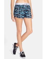 Under Armour - Blue 'Play Up' Print Shorts - Lyst