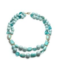 Alexis Bittar - Blue Gold Muse D'or Multi Strand Necklace You Might Also Like - Lyst