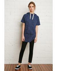 Forever 21 | Blue Slub Knit Pullover | Lyst