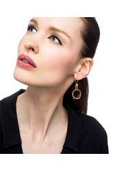 Lulu Frost - Metallic Signet Earring - Lyst