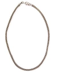 Laura B | Metallic Magno Necklace | Lyst