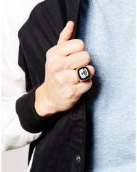 Vivienne Westwood - Metallic Orb Signet Ring for Men - Lyst