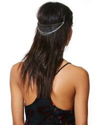 Nasty Gal | Metallic Alexia Hairpiece | Lyst