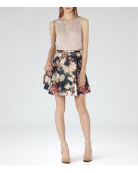 Reiss | Pink Jarvis Mini Shoulder Bag | Lyst