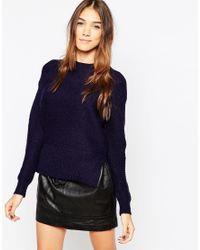 Gestuz | Black High Neck Sweater | Lyst