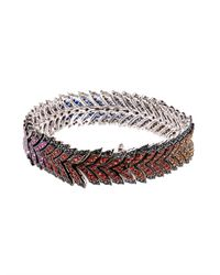 Stephen Webster - Blue Diamond & Sapphire Magnipheasant Bracelet - Lyst