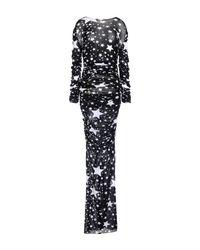 Dolce & Gabbana - Black Long Dress - Lyst