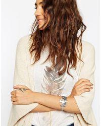 ASOS Metallic Phoenix Cuff Bracelet