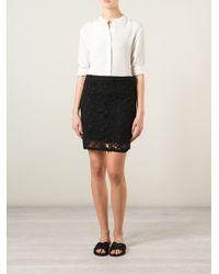 Étoile Isabel Marant - Black 'Delphia' Skirt - Lyst
