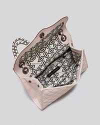 Rebecca Minkoff Pink Shoulder Bag Quilted Affair with Gunmetal Tone Hardware