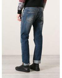 Dolce & Gabbana - Blue Medium Wash Jeans for Men - Lyst