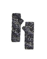 Rebecca Taylor - Black Eugenia Kim Joelle Knit Gloves - Lyst