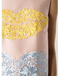 Stella McCartney Pink Sharma Shift Dress
