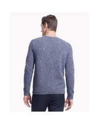 Theory | Blue Riland Sweater In Gravels for Men | Lyst