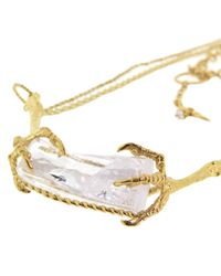 Tessa Metcalfe - Metallic Ice Crystal Necklace - Lyst