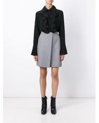 Chloé Black Ruffle Shirt