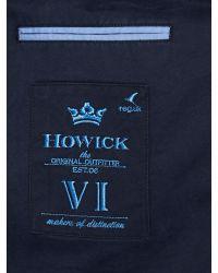Howick - Blue Clayton Twill Blazer for Men - Lyst