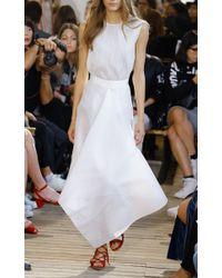 Maison Rabih Kayrouz   White Wired Organza Handkerchief A-line Skirt   Lyst