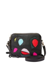 Fossil | Black 'sydney' Crossbody Bag | Lyst