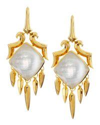 Stephen Webster | Yellow Large Drop Crystal Haze Earrings | Lyst