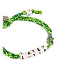 Venessa Arizaga | Green 'later Gator' Bracelet | Lyst