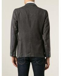 Boglioli - Gray Three Button Blazer for Men - Lyst
