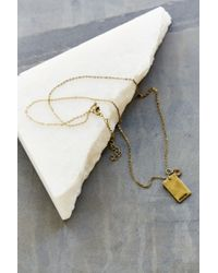 Urban Outfitters | Metallic Stamped Zodiac Necklace | Lyst